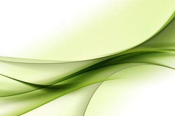 modern green abstract