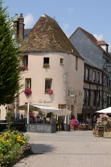 picturesque city of Dreux in Eure et Loir