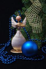 Christmas wooden angel