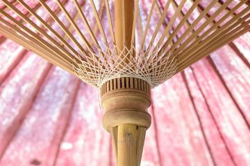 wood rod used to make umbrella