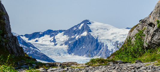 Path to Portage Glacier