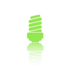lamp green icon