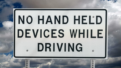 No Hand Held Devices While Driving Time Lapse
