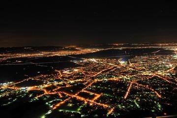 Nacht über Bregenz