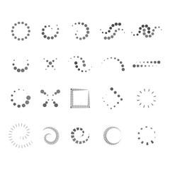 Design Elements Set - Isolated On White Background