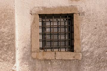 window of a prison