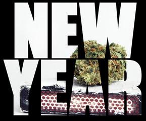 New Year, marijuana