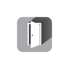 door sign enter or exit internal door