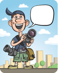Funny Photographer Speaking