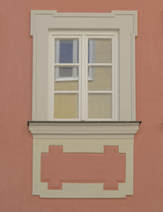 vintage home window, Bamberg, Germany