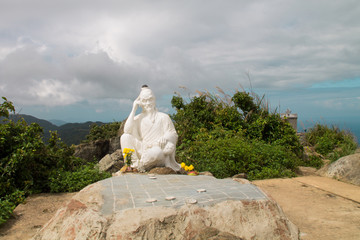 Statue on top of the hill
