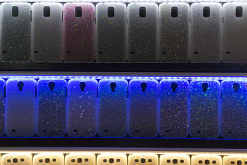 glowing cellular phone covers