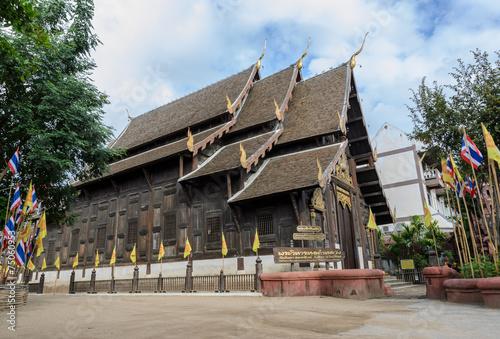 Papiers peints Autre Wat Phan Tao in Chiang Mai, Thailand