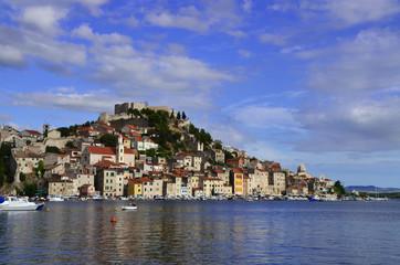 beautiful sibenik city