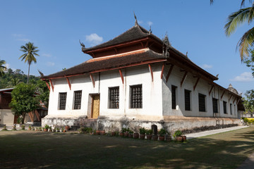 monastery in laos