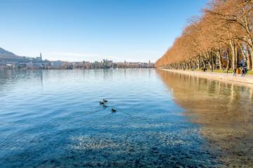 Annecy et son lac