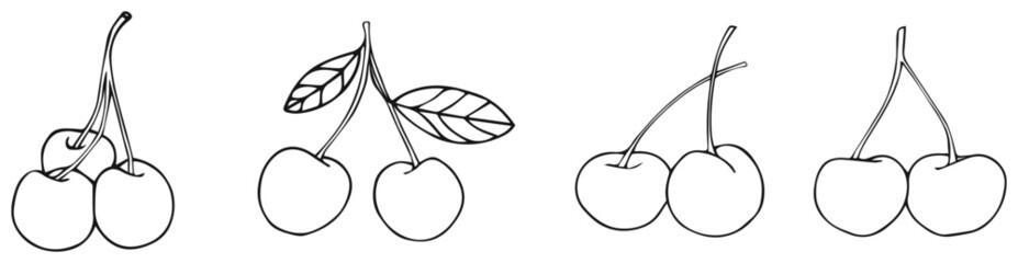 Delightful garden - cherries 2