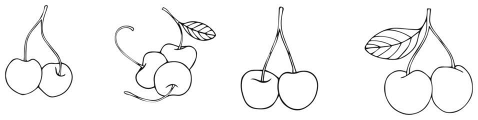 Delightful garden - cherries 1