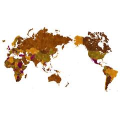 世界 地図 国