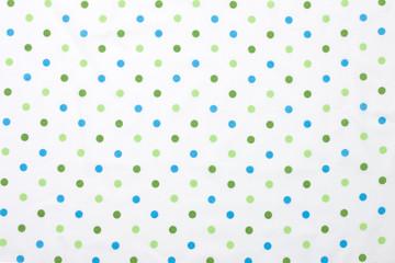 水玉模様の布
