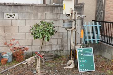 住宅建設の地盤調査