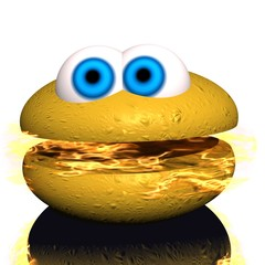 hamburger - spicy