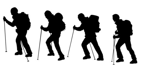 hiker v3 silhouettes