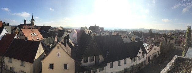 Stadtansicht Oehringen