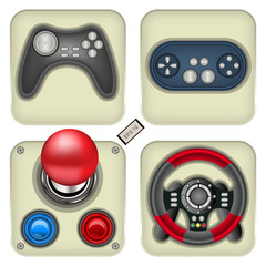 gamepad icons