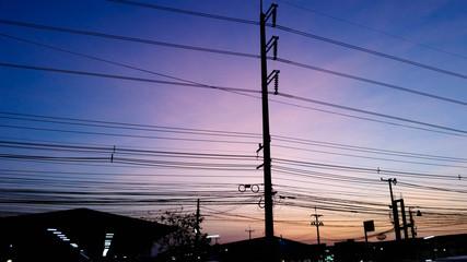 Sunset, Dies Power & Branchs