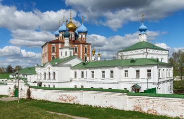 View of Ryazan Kremlin. Ryazan city, Central Russia