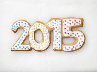 2015 New Year cookies