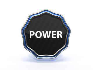 power star icon on white background