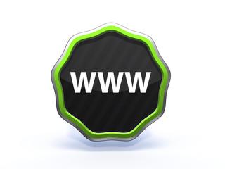 www star icon on white background