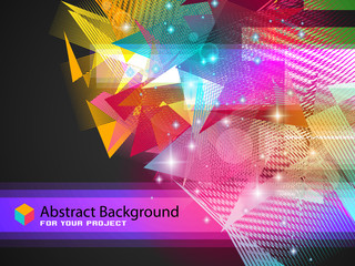 Abstract fantasy pattern for modern backgrounds