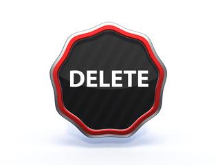 delete star icon on white background