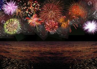 Fogos de Artifício na Beira Mar