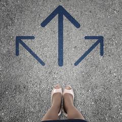 Choosing direction