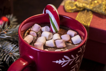 Cup of hot chocolate