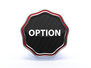 option star icon on white background