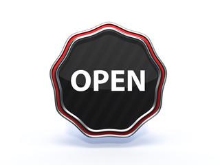 open star icon on white background
