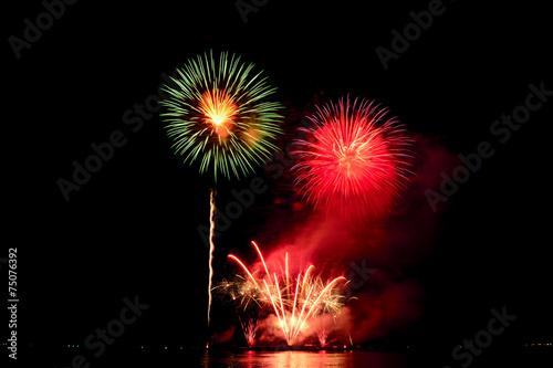 Beautiful fireworks