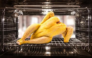 pollo dentro il forno