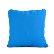 Blue cushion isolated on white background - 75079584