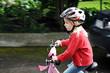 Leinwanddruck Bild - Sicherheit für Kinder im Straßenverkehr