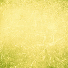 Grunge Abstract yellow  textured  background with spotlight and