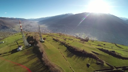 Sondrio - Valtellina - Vista aerea