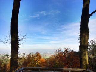 Ausblick von den Waldenburger Bergen
