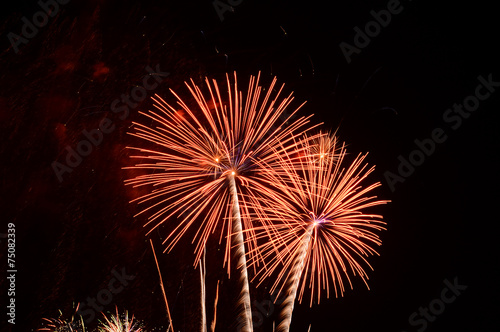 Magnificent fireworks