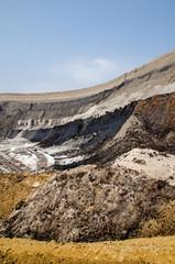 Abbaurand im Tagebau